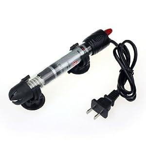 Aokdis Hot Selling Submersible Adjustable Aquarium Glass Heater Fish Tank Thermostat (25W)