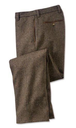 County Donegal Tweed Trousers, Brown Mix, 46