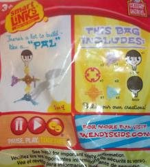 Wendy's Smart Links Kids Meal PAL Toy 2011