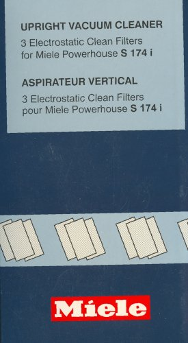 Miele Air Clean Filter (S 174) front-40122