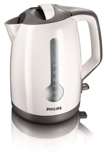 Philips HD4649/00 - Bollitore a risparmio energetico, colore bianco