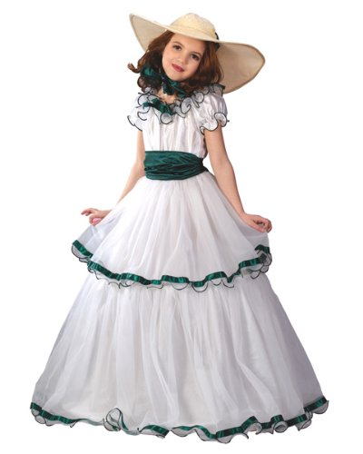 South (Southern Belle Child Halloween Costume)