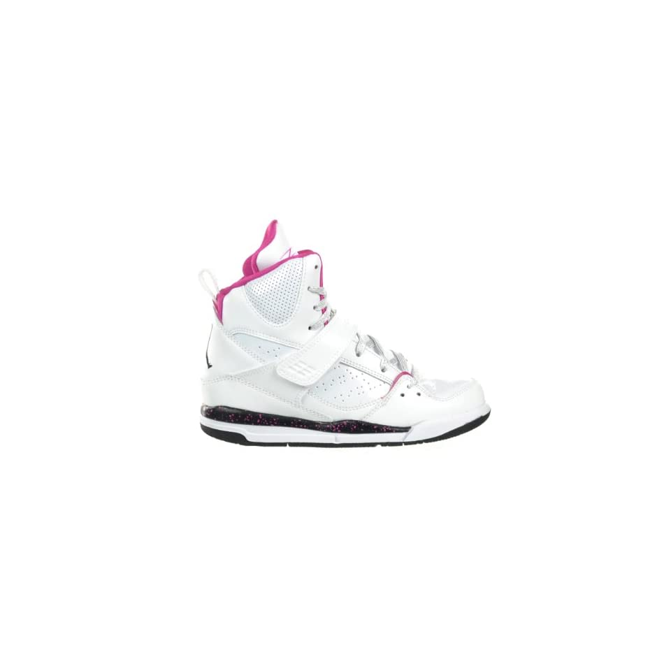 e3de0369d1ec5 Girls Jordan Flight 45 High (PS) Preschool Kids Shoes White/Black Fusion  Pink