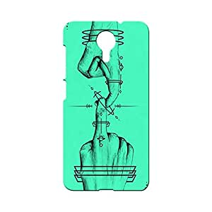 G-STAR Designer Printed Back case cover for Micromax Canvas E313 - G2635