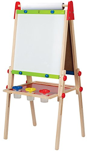 Hape-Early-Explorer-All-In-One-Wooden-Easel-with-Paper-Roll