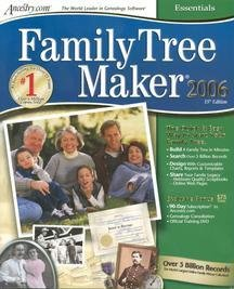 Family Tree Maker 2006 Essentials (Family History Software compare prices)