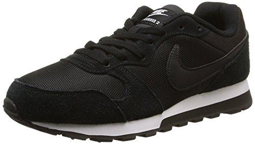 Nike Wmns Md Runner 2 Scarpe da corsa, Donna, Black/Black-White, 38