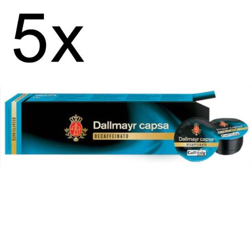 Get Dallmayr capsa Decaffeinato, Pack of 5, 5 x 10 Capsules - Alois Dallmayr