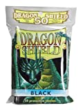 Dragon Shield Card Supplies STANDARD Card Sleeves Black 50 Count [Toy]