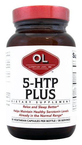Olympian Labs 5 Htp Plus, 100Mg (Pack Of 2)
