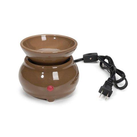 Bulk Buy: Darice Diy Crafts Electric Wax Melter Ceramic Mocha (4-Pack) Melt-003