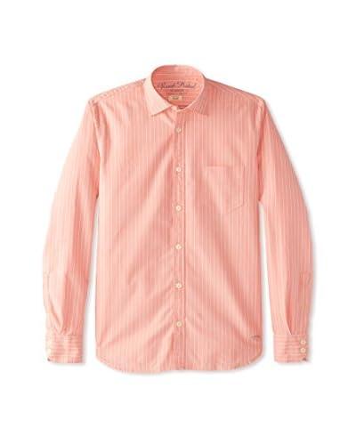 Rose Pistol Men's Long Sleeve Riverside Striped Shirt