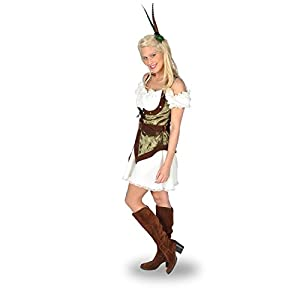 Sexy Robin Hood Fancy Dress Costume - Women - 44/46