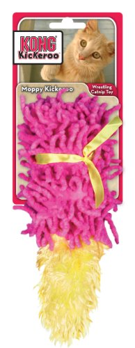 KONG Cat Moppy Kickeroo Catnip Toy (Colors Vary)