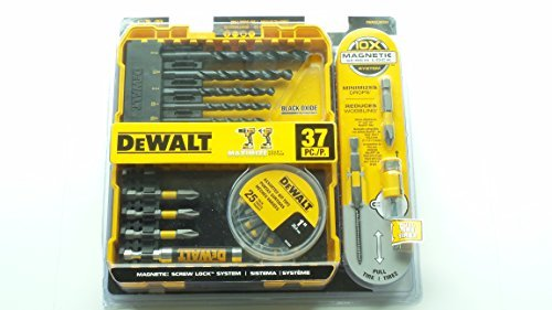 Maxfit Black Oxide Drill and Screwdriving Set (37-Piece) (Dewalt Drill Repair Parts compare prices)