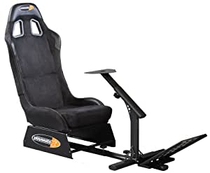 Playseat Evolution,Rennsitz Playseat Evolution Alcantara für PS 2, PS 3, Xbox, Xbox 360, Wii, Mac und PC