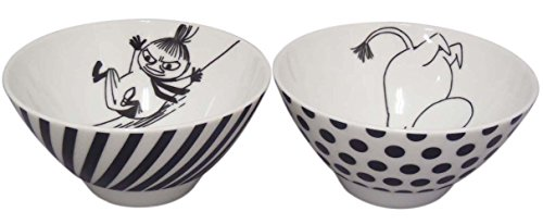 MOOMIN Moomin Bob foundation series pairs rice bowl set MM700-455 - 1