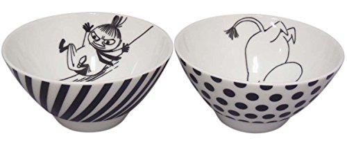 MOOMIN Moomin Bob foundation series pairs rice bowl set MM700-455 - 1