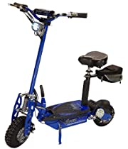 "Super Turbo 1000-Lithium Electric Scooter ""BLUE"""
