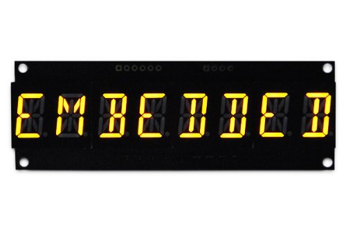 8 Digit 14 Segment Alphanumeric 0.56 Inch Led Display - Orange
