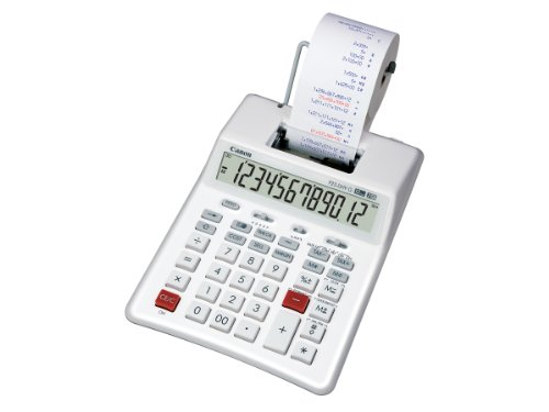 Canon P23-DHV-G Two-Colour 12-Digit Green Handheld Printing Calculator