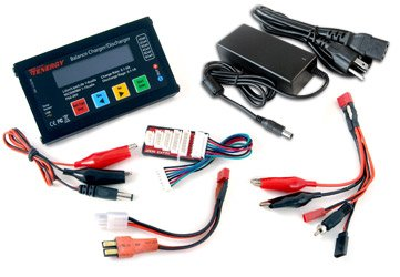Redcat Racing Tenergy-90252 LIPO Battery Charger and Adapter