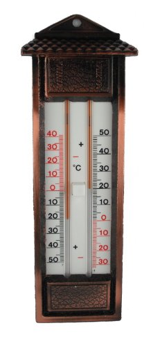 Thermometer Min/Max.-Thermometer, Metall, mehrfarbig