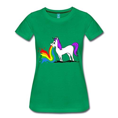 Licorne-Vomitant-Arc-En-Ciel-T-shirt-Premium-Femme-de-Spreadshirt