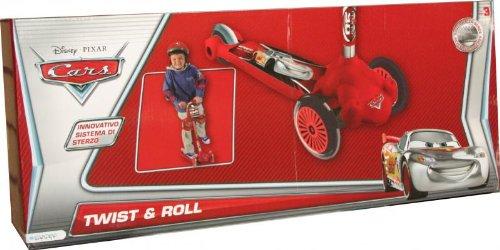 Patinette Twist and roll 3 roues Disney Cars avec un Sac