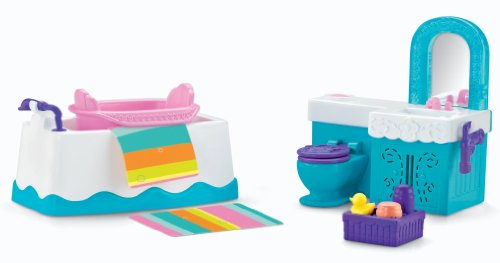 Fisher-Price Dora The Explorer Playtime Together Bathroom Furniture (Fisher Price Dora House compare prices)