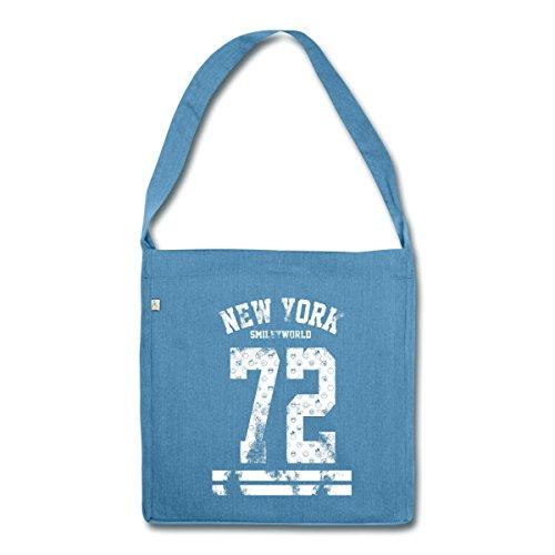 smiley-world-new-york-72-sac-bandouliere-100-recycle-de-spreadshirtr-bleu-chine