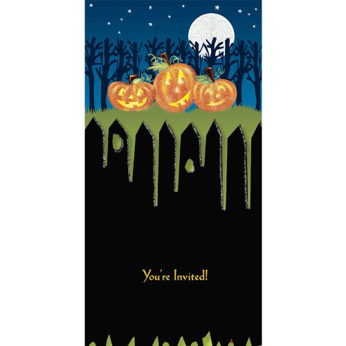 Pumpkins Tiny Twinkler Invitations
