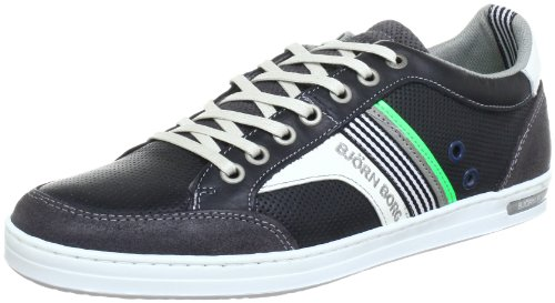 Björn Borg Footwear GOOLD Trainers Men blue Blau (NAVY-NEON GREEN 7395) Size: 10 (44 EU)