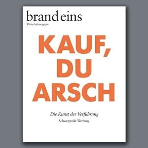 brand eins audio: Werbung Audiomagazin