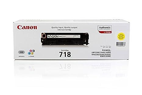 Canon I-Sensys MF 8580 cdw - Original Canon 2659B002 / 718Y - Cartouche de Toner Jaune -