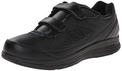 New Balance Men's MW577 Leather Hook/Loop Walking Shoe