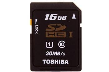 SDHC カード 東芝 16GB クラス10 UHS-I 30MB/s 並行輸入品