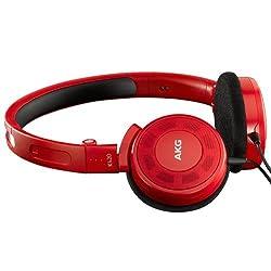 AKG K420 On-Ear Headphone (Red)