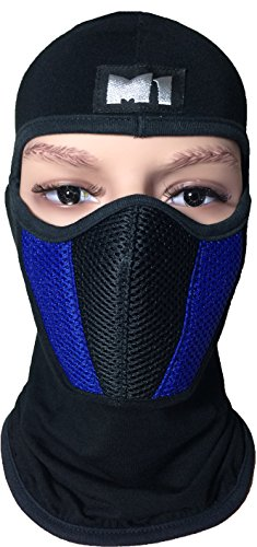 M1-Full-Face-Cover-Balaclava-Protection-Filter-Plain-Mask-Blue-BALA-FILT-BLUE