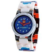 Lego - 740414 - Space Police - Coffret Cadeau - Montre Enfant - Quartz Analogique - Cadran Bleu - Bracelet Plastique...