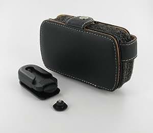 G-MOBILITY Housse en cuir pour Qtek 9600 GRJMLC29 Egalement compatible avec HTC TyTN, SPV M3100, xda Trion, MDA Vario II