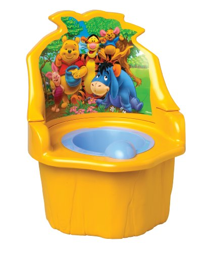 Ir Al Baño Color Amarillo:Baby Winnie the Pooh Potty Chair