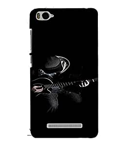 PrintVisa Man Playing Guitar Music 3D Hard Polycarbonate Designer Back Case Cover for Xiaomi Redmi MI 4C
