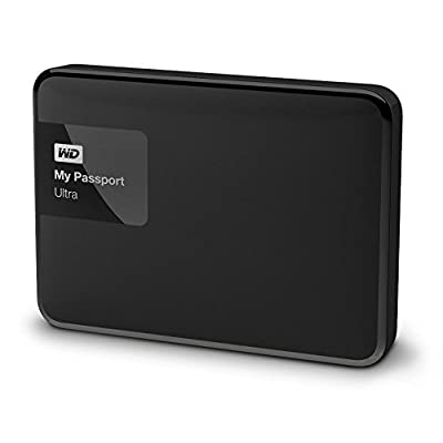 WD My Passport Ultra WDBBKD0020BBK-EESN 2TB External Hard Drive (Black)
