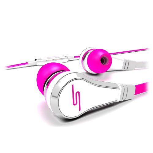 SMS Street by 50 Cent Ear-Buds  (Pink)