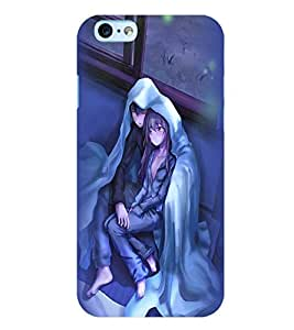 Printvisa Couple Wrapped Upon A Cold Evening Back Case Cover for Apple iPhone 6S
