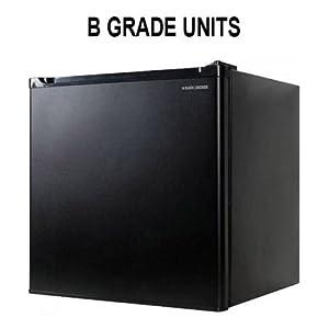 Black & Decker 1.7 cu. ft. Compact Fridge, Black