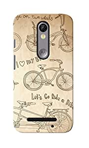 KnapCase Stylish Man Designer 3D Printed Case Cover For Motorola Moto X Force
