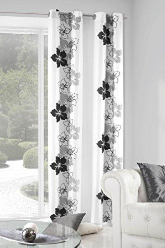 Eurofirany-ZASGLORYBSTAL-Vorhang-Glory-mit-Blumenmotiv-140-x-250-cm-grau