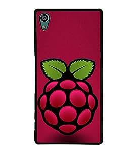 Printvisa Red Berry 2D Hard Polycarbonate Designer Back Case Cover For Sony Xperia Z5 :: Sony Xperia Z5 Dual